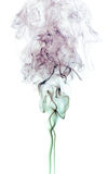 Color Smoke On White Royalty Free Stock Photos