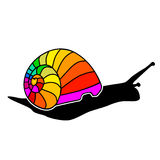Color snail Royalty Free Stock Photo