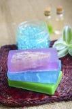 Color soap Stock Image