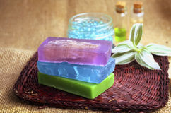 Color soap Royalty Free Stock Photography