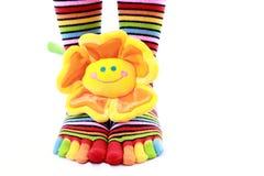 Color socks Stock Photo
