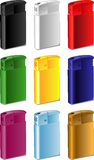 Color souvenir lighter stock photo
