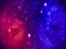 Color space background stock footage