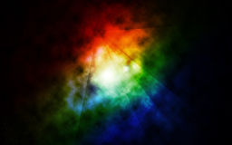 Color space radiance Royalty Free Stock Photo