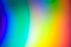 Color Spectrum. With rainbow background Stock Photos