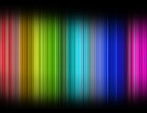 Color spectrum. In white background royalty free illustration