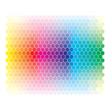 Color spectrum abstract wheel, colorful diagram ba Stock Image