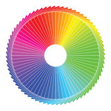 Color spectrum abstract wheel, colorful diagram ba Royalty Free Stock Photos