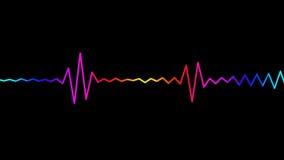 Color spectrum stock footage