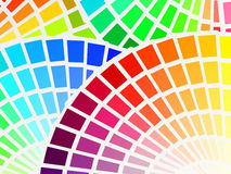 Color spectrum background Stock Photos
