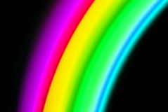 Color spectrum blurry Royalty Free Stock Photos