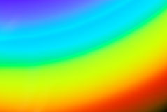 Color spectrum blurry background Stock Images