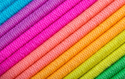 Color Spectrum Shoelaces. Stock Image