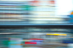 Color of speedtrain in hamburg Royalty Free Stock Photos