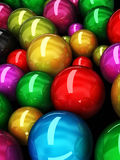 Color sphere background Royalty Free Stock Image