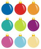 Color spheres Royalty Free Stock Photos