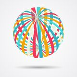 Color spheres set Royalty Free Stock Photos