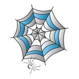 Color spiderweb art Royalty Free Stock Images