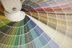 Color Spin. A booklet of paint swatches Stock Photography