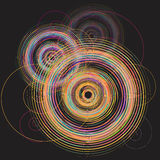 Color spiral vector Royalty Free Stock Photo