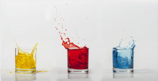 Color Splash. Is an expression of living life to fullest in all colors.  Commercial use Royalty Free Stock Image