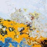 Color splashes Stock Image