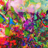 Color splashes background Royalty Free Stock Photo
