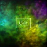 Color splashes background. Eps10. Stock Photo