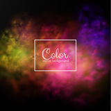 Color splashes background. Eps10. Royalty Free Stock Photography