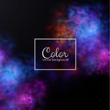 Color splashes background. Eps10. Royalty Free Stock Photography