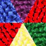 Color splinters Stock Image