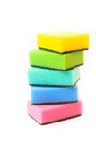Color sponges Royalty Free Stock Photography