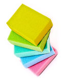 Color sponges Royalty Free Stock Photos