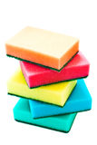 Color sponges Royalty Free Stock Photo