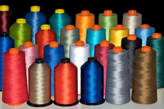 Color spools Royalty Free Stock Photos