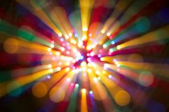 Color spots bokeh background Royalty Free Stock Photos