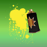 Color spray aerosol Royalty Free Stock Photos