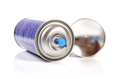 Color spray can Stock Photo