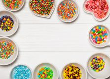 Color sprinkles Stock Photo