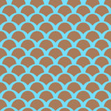 Color squama pattern. Color squama  seamless pattern Royalty Free Stock Photography