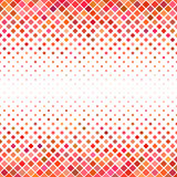 Color square pattern background - geometrical vector graphic from diagonal squares in red tones. Color abstract square pattern background - geometrical vector Royalty Free Stock Images
