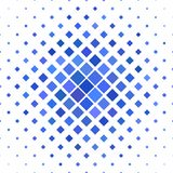 Color square pattern background - vector design from diagonal squares in blue tones. Color square pattern background - geometric vector design from diagonal Stock Image