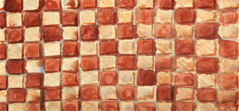 Color squares. stock photography