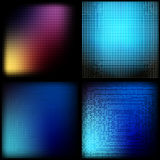 Color squares Stock Image