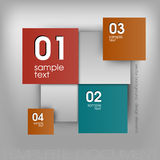 Color Squares Design Royalty Free Stock Photography