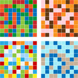 Color squares texture Stock Photos