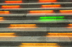 Color stairs Royalty Free Stock Photography