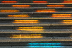 Color stairs Stock Photo