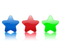 Color star icon Royalty Free Stock Image
