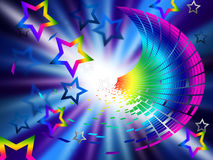 Color Star Means Outer Space And Celestial Royalty Free Stock Photo
